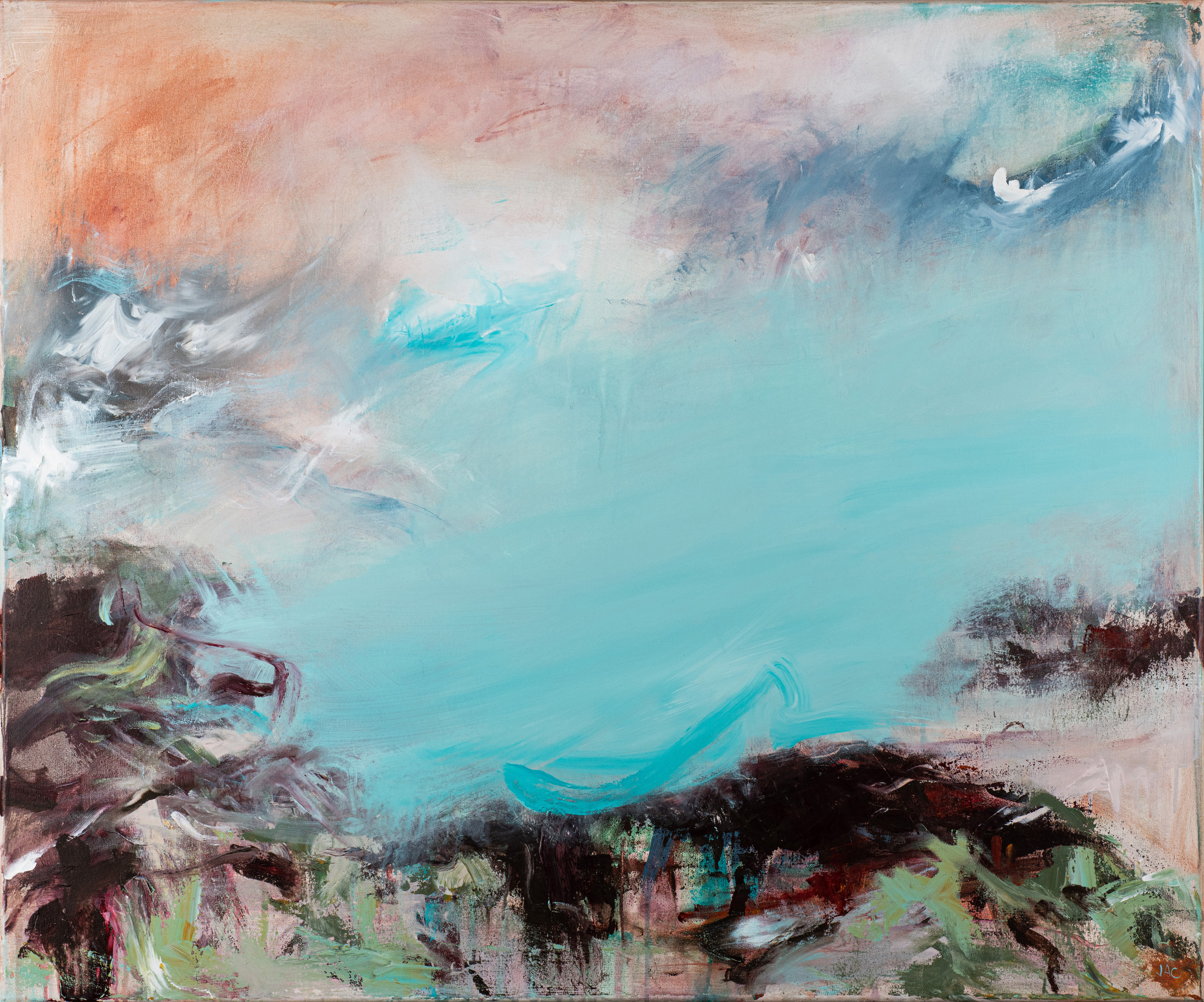 All Along The Sky by Jill Campbell, Acrylic on canvas