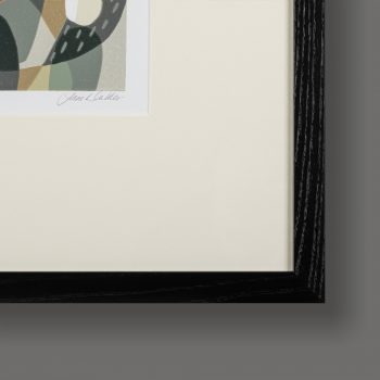 Frame detail of Apples and Lilies by Jane Walker