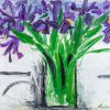 Iris by George Hainsworth, Oil on board
