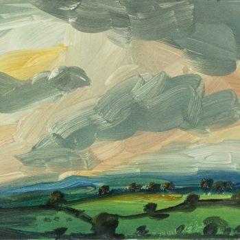 Sunrise by Robert Newton, Monotype