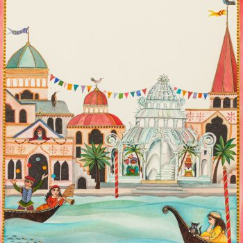 The Glass Palace by Jane Ray, Watercolour