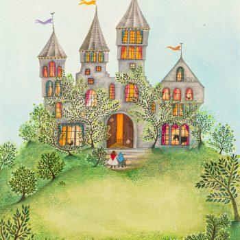 The Fairy Castle by Jane Ray, mixed media
