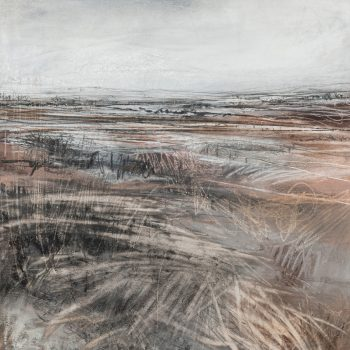 Muddy Earth by Janine Baldwin PS, Pastel, charcoal and graphite on paper