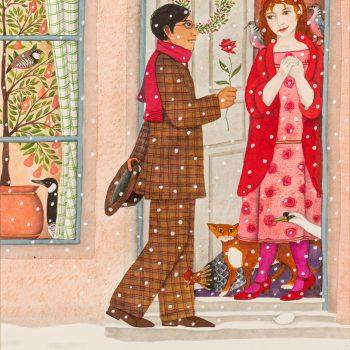 My True Love by Jane Ray, mixed media