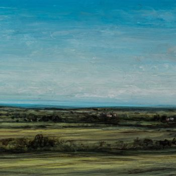View From Almscliffe Crag by Myles Linley, Acrylic