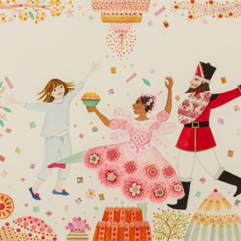 The Dance of the Sugar Plum Fairy by Jane Ray, mixed media