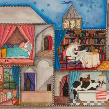 A Place for Everyone by Jane Ray, Mixed Media
