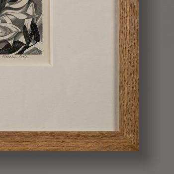 Frame detail of Magnolia by Monica Poole RE