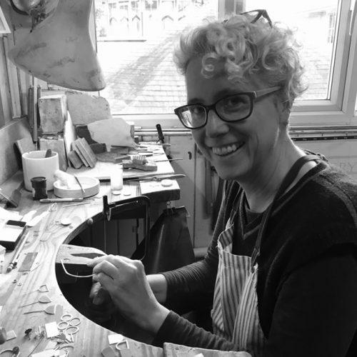Annabet Wyndham Jeweller at her Bench