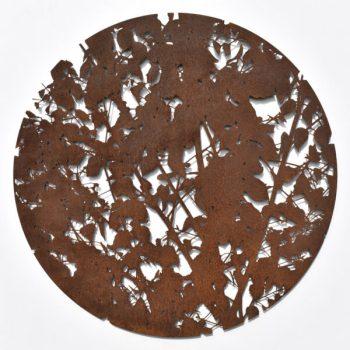 Silver Birch in Corten by Ian Turnock
