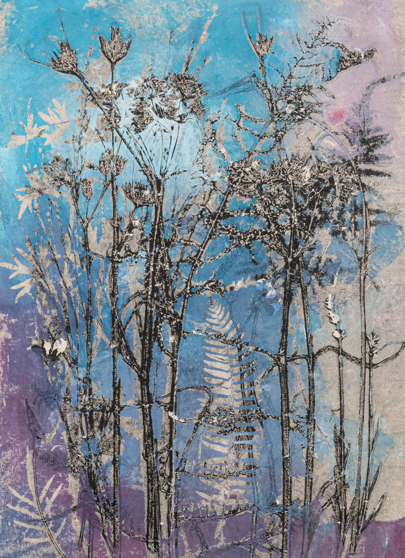 Summer English Country Garden by Stef Mitchell, Monotype