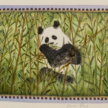 The Panda's Tale by Jane Ray, mixed media
