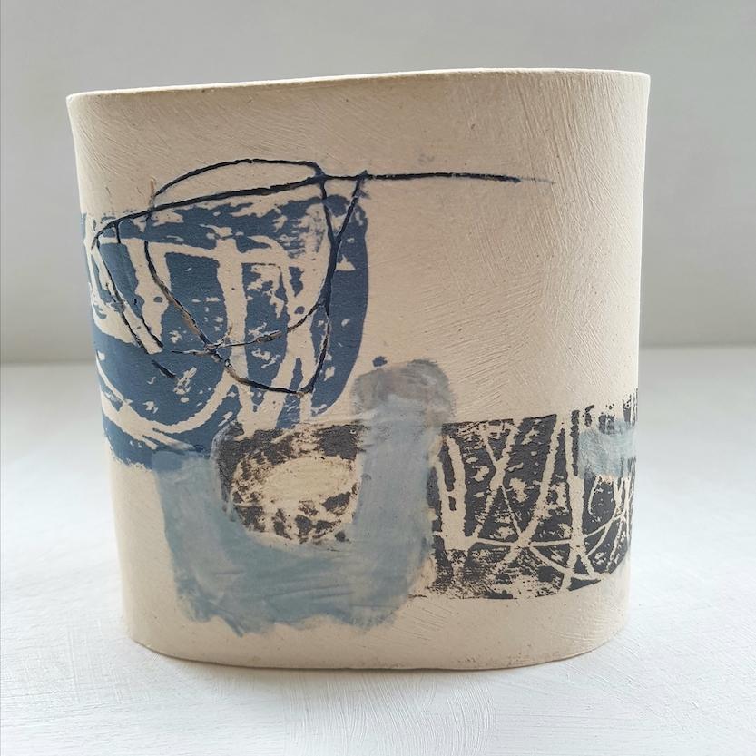 Slip Decorated Stoneware Louise McNiff