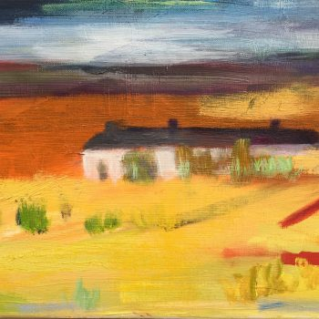 After The Storm, Oil on Canvas by Louise Davies RE