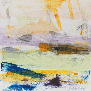 Spring, The Four Seasons by Louise Davies RE, Monoprint