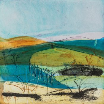 The Endless Moors by Louise Davies, Etching and collagraph