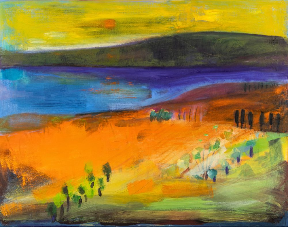 Almeria by Louise Davies RE, oil on canvas