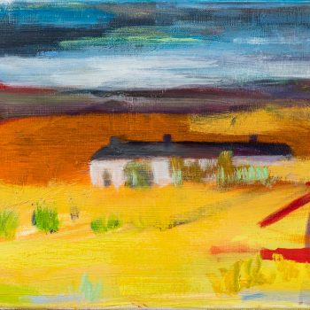 After The Storm by Louise Davies RE, oil on canvas