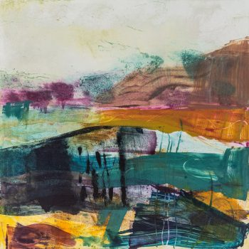 Approaching Storm by Louise Davies RE, Monoprint