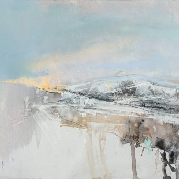 Winter Light by Pascale Rentsch, Mixed media