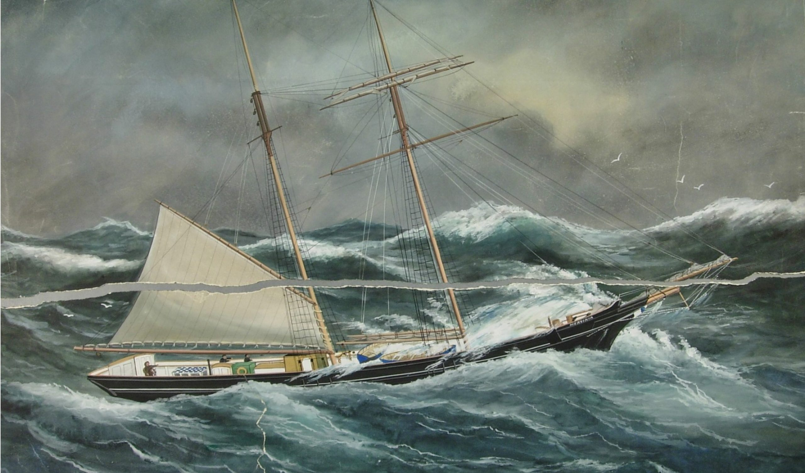 Reuben Chappell - before conservation