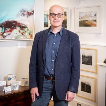 Richard Hawkes Director of Watermark Gallery