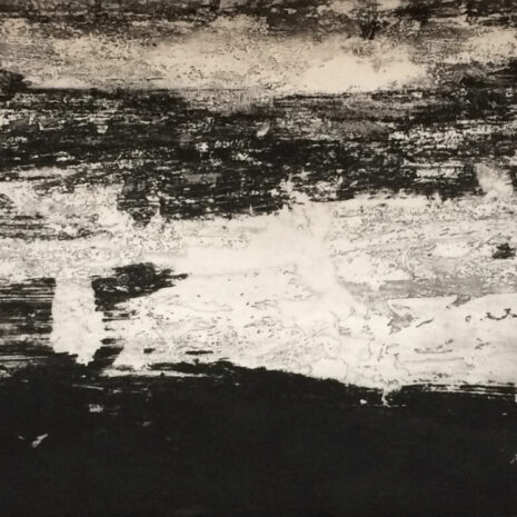 Estuary by Jason Hicklin, Etching
