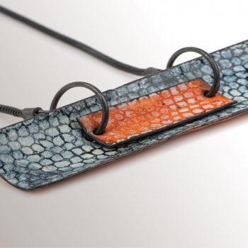 contemporary jewellery by Emily Higham at Watermark Gallery