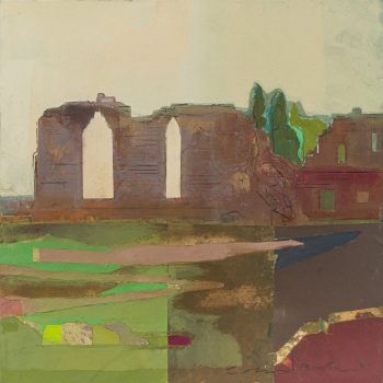 Monk Bretton Priory by Colin Black in mixed media