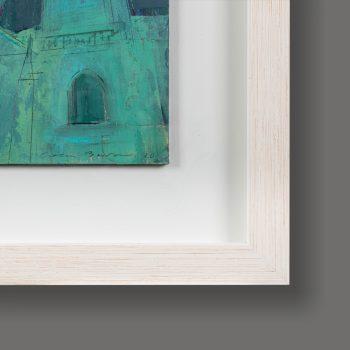 Detail of frame for York Minster Floodlit by Colin Black