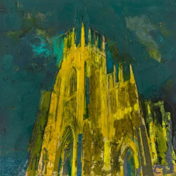 York Minster Illuminaire by Colin Black in mixed media