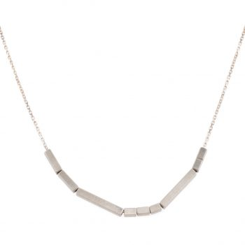 Low Line Rhythm Necklace by Chloe Solomon