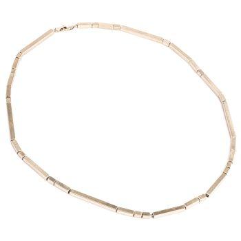 Full Line Rhythm Necklace by Chloe Solomon, Silver