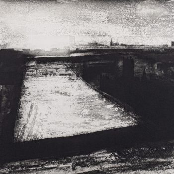 The Thames Westminster by Jason Hicklin RE, Etching