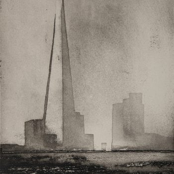 The Shard by Jason Hicklin RE, Etching