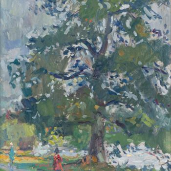 Early Autumn by Andrew Farmer ROI, Oil on panel