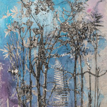 English Country Garden I by Stef Mitchell, Nature monotype