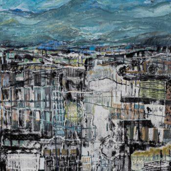 Majellas Study by Rob Moore, Oil on board