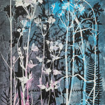 Summer in an English Country Garden by Stef Mitchell, Nature monotype