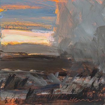 Moor by Stephen Heward, Acrylic on board