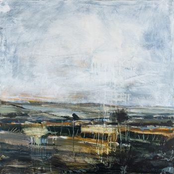 Boulby Ridge by Stephen Heward, Acrylic on canvas