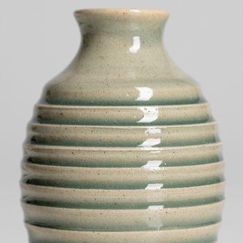 Detail, Bud Vase by Gordon Broadhurst, stoneware
