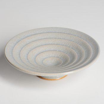 Turned Dish by Gordon Broadhurst, stoneware