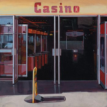Casino by Andrew Morris, Acrylic on board