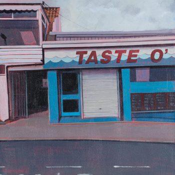 Taste O' by Andrew Morris, Acrylic on board