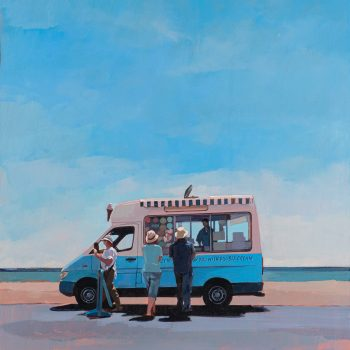 Mr Whippy by Andrew Morris, Acrylic on board