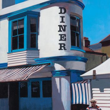 Diner by Andrew Morris, Acrylic on board