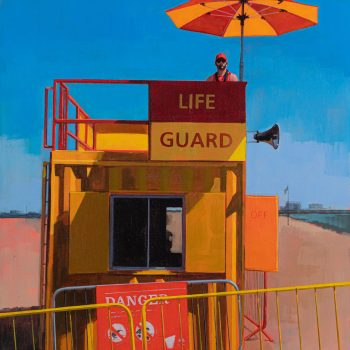 Baywatch by Andrew Morris, Acrylic on board