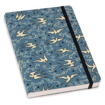 Cressida Bell Notebook Bluebirds