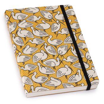 Cressida Bell Notebook Yellow Ibis